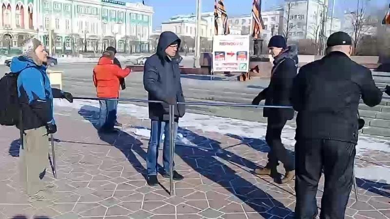 Пикет НОД, г.Екатеринбург, 25.02.18 г.(подготовка)