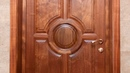 Изготовление межкомнатных дверей из массива красного дерева To make doors of mahogany
