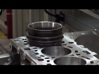 На заводе двигателей BMW