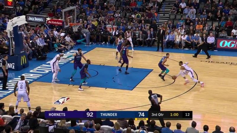 NBA 2017-2018 / RS / 11.12.2017/Charlotte Hornets vs Oklahoma City Thunder