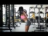 Спорт мотивация для женщин Фитнес модели занимаются в спортзале и на улице