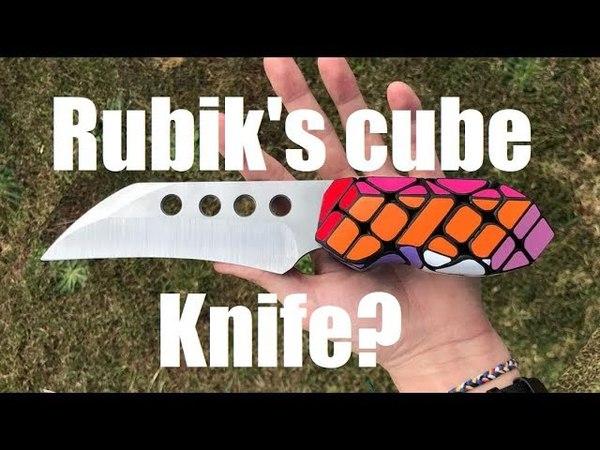 Knifemaking Rubik's cube hybrid Nathan Wilson colab