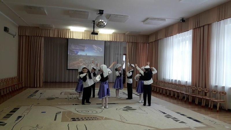 Выступление детей группы
