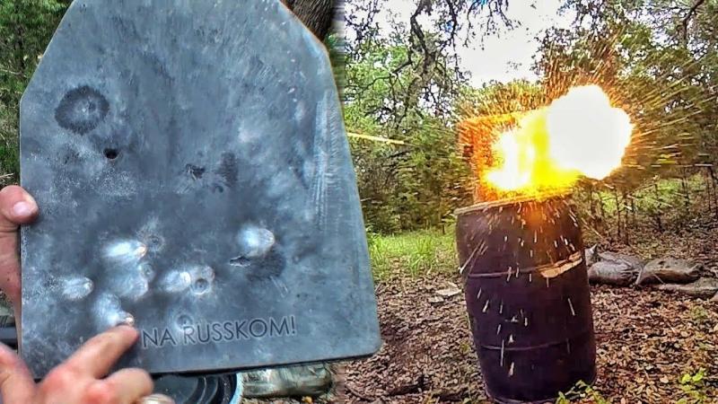 [Zёбра] Срикошетит ли бронебойная пуля? | Разрушительное ранчо | Перевод Zёбры
