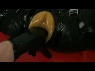 Rubber doll in bondage.mp4