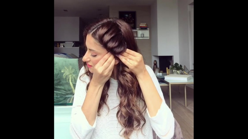 Очень классная идея для распущенных волос!