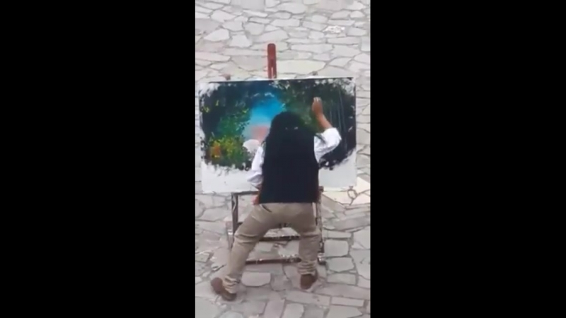Художник просто отпад