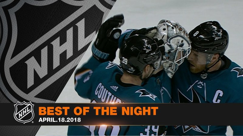Sharks complete series sweep, Forsberg nets gorgeous tally