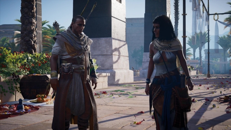 Assassin's Creed Origins Проклятие фараонов 1