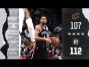 Brooklyn Nets vs Cleveland Cavaliers 112:107 Full Game Highlights 25.10.2017