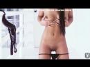 Молодая мулатка показала свои красивые сиськи и бритую пизду пухлые губки секс порно в попку