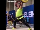 245kg Clean Jerk Behdad Salimi