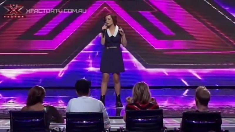 Bella Ferraro - Skinny Love - THE X FACTOR AUSTRALIA 2012