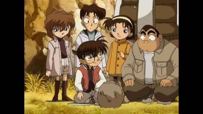 Detective Conan 374 серия русская озвучка Xelenum / Детектив Конан 374