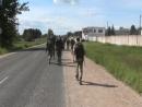 герои 2-го дня.104 полк Череха. остался 1 км40 км позади.догнали Спецназ.не сил вести репортаж