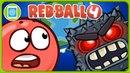 Красный Шарик 4 и Злые Кубики - Не дай сделать Землю квадратной * Игра Red Ball 4 на Sensor Games
