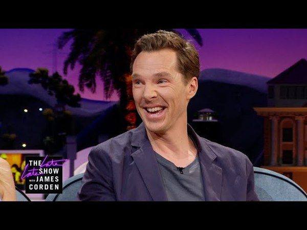 Benedict Cumberbatch Gets Jacked w/ Coffee Skittles