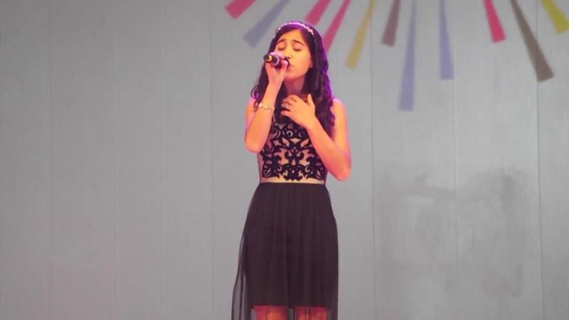Выступление Ани Галстян (г. Великий Новгород) в суперфинале проекта «Салют Талантов»