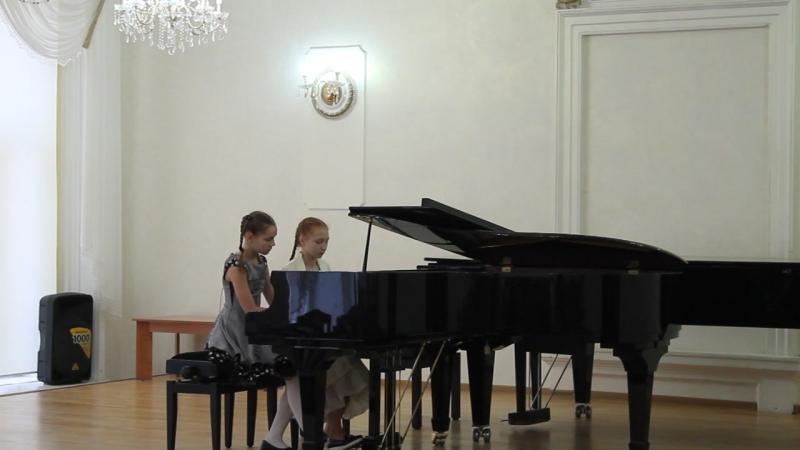 Лиза и Ангелина на фестивале-конкурсе Созвучие