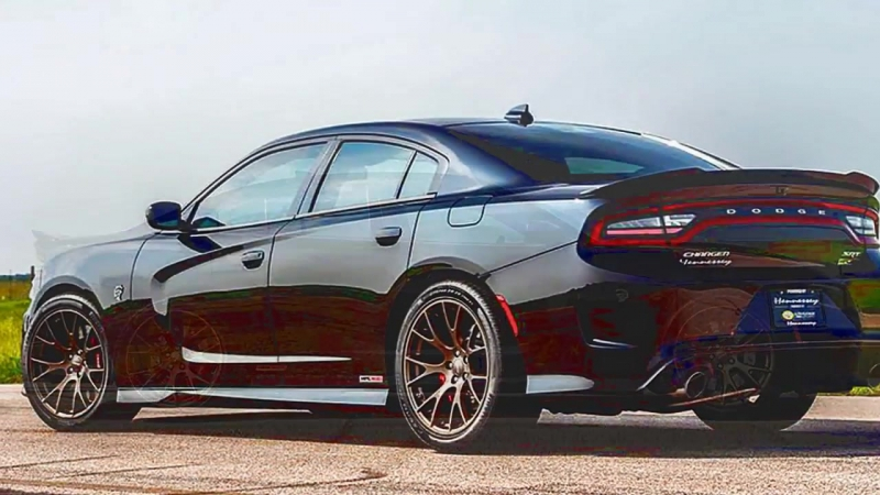 2016 Dodge Charger Hellcat Hennessey HPE1000 Twin Turbo