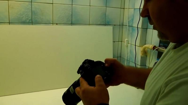 Техника очистки матрицы фотоаппарата. Чистка матрицы своими руками