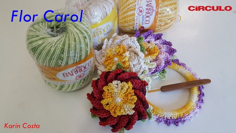 Flor Carol / Diy / By Karin Costa