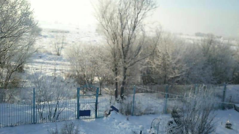 Зима как она есть..