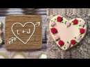 Valentine's Day Cookie Art Decorating Love CookiesDecorating Satisfying 2018