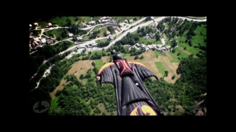 Wingsuit [best moments] HD