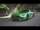 Raising Green Hell in DJ Skees AMG GT R around Beverly Hills