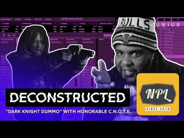 Разбор трека Trippie Redd Dark Knight Dummo с Honorable C.N.O.T.E. | Озвучка NPL |