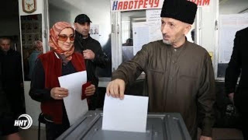 Муфтий Дагестана шейх Ахмад Афанди выразил своё избирательное право