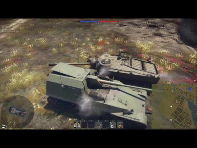 War Thunder Эпичная битва Ho-Ri Production vs T28! Годзилла против Кинг Конга!