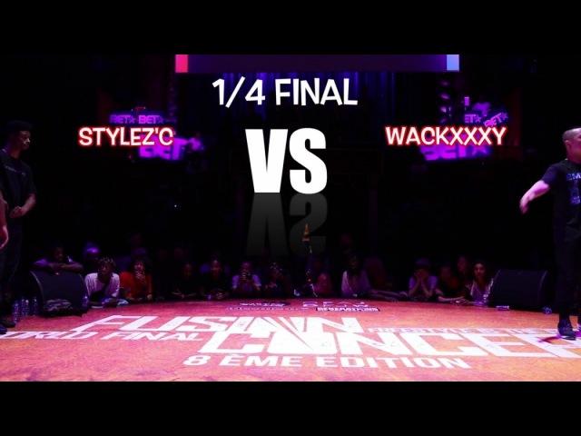 STYLEZ C vs WAACKXXXY   14 final - Last Eight   Fusion Concept 2017