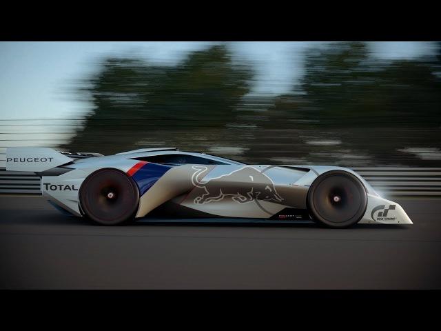 Peugeot L500R L750R HYbrid Vision Gran Turismo Unveiled