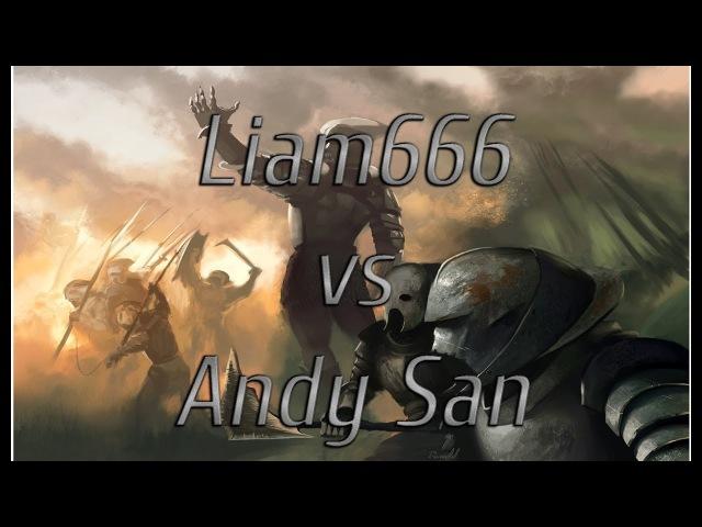 RotWK 2.02 7.0 liam666 vs Andy San ( Комментирование)