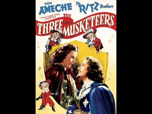 Комедия Три мушкетера (1939) Don Ameche The Ritz Brothers