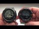Casio WSD-F10 Vs Pro Trek WSD-F20 / Смарт часы Касио на Android Wear