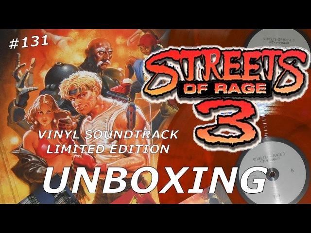 Streets of Rage 3 Vinyl Soundtrack - Unboxing 131