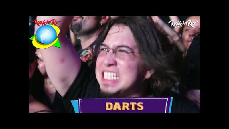 System Of A Down - Darts LIVE【Rock In Rio 2015 | 60fpsᴴᴰ】