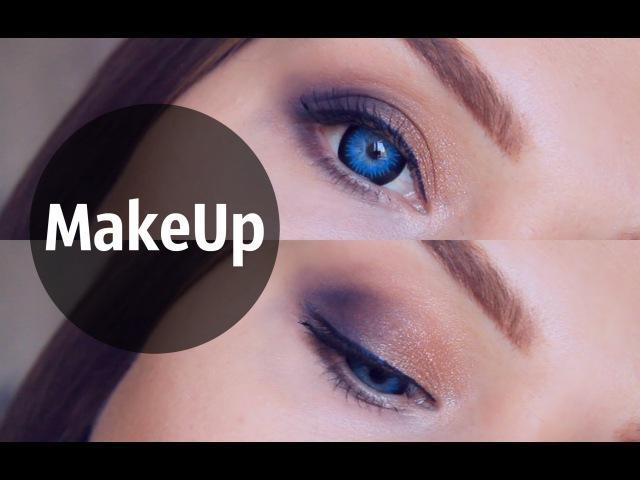 Как увеличить глаза/Цветные линзы/Макияж