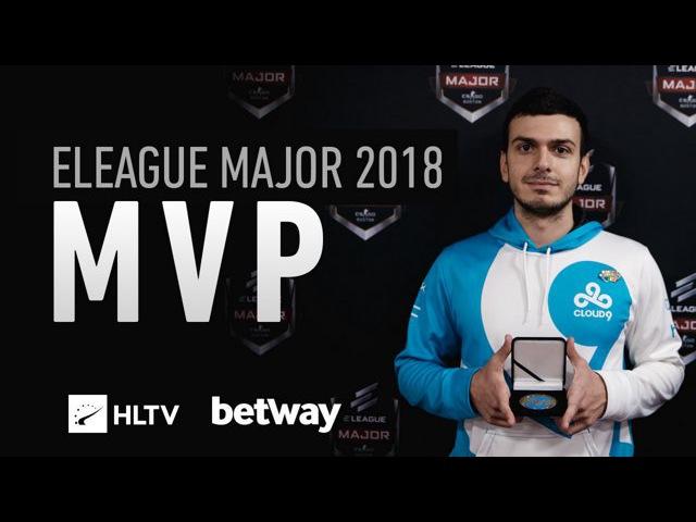 Tarik HLTV MVP by Betway of ELEAGUE Major 2018
