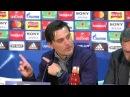 Montella: Es necesario interpretar cada momento de la mejor manera. 12/03/18. Sevilla FC