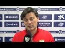 MONTELLA: Hemos estado concentrados y sabido sufrir . 28/02/18. Sevilla FC