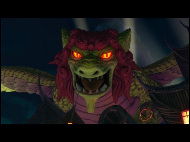 Ni no Kuni II Revenant Kingdom ~ Longfang Boss Battle Gameplay
