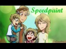 This is Bob [Speedpaint] Scar's Family