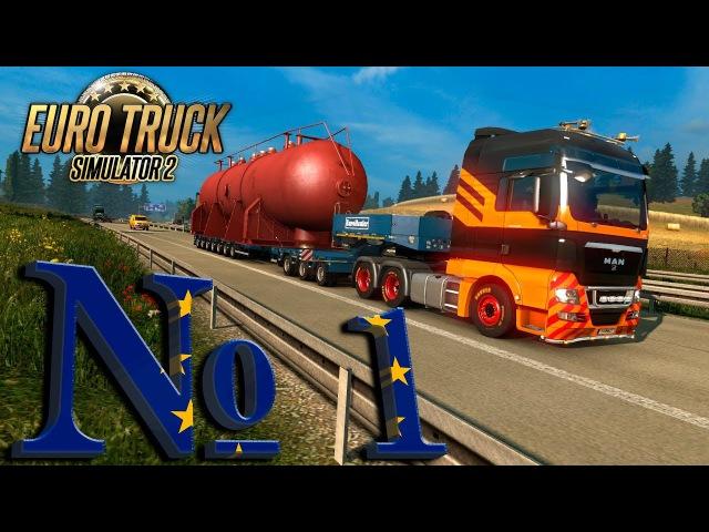 Euro Truck Simulator 2 №1: Доставка спецгруза (Вводная)