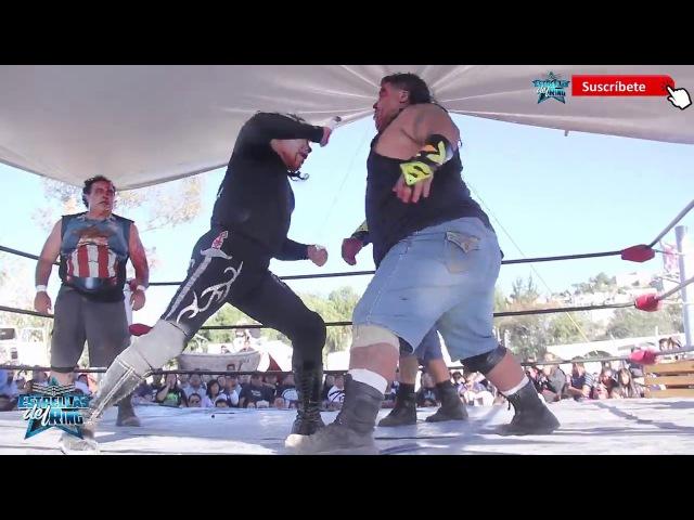 Romano Garcia, Rocky Santana El Gallego vs. Angel o Demonio, Ovett Leon Rojo