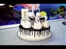 Двухъярусный торт ЛЕБЕДИНОЕ ОЗЕРО \ Tiered cake SWAN LAKE