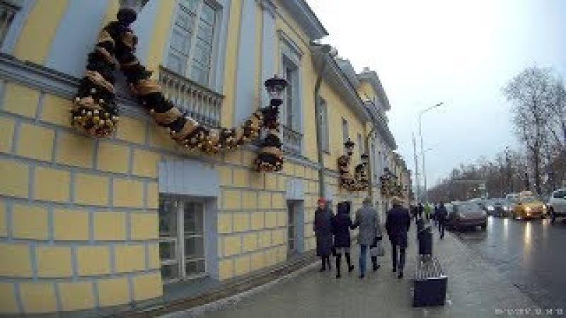 Прогулка по Тверской улице и бульварам 9 декабря 2017 года